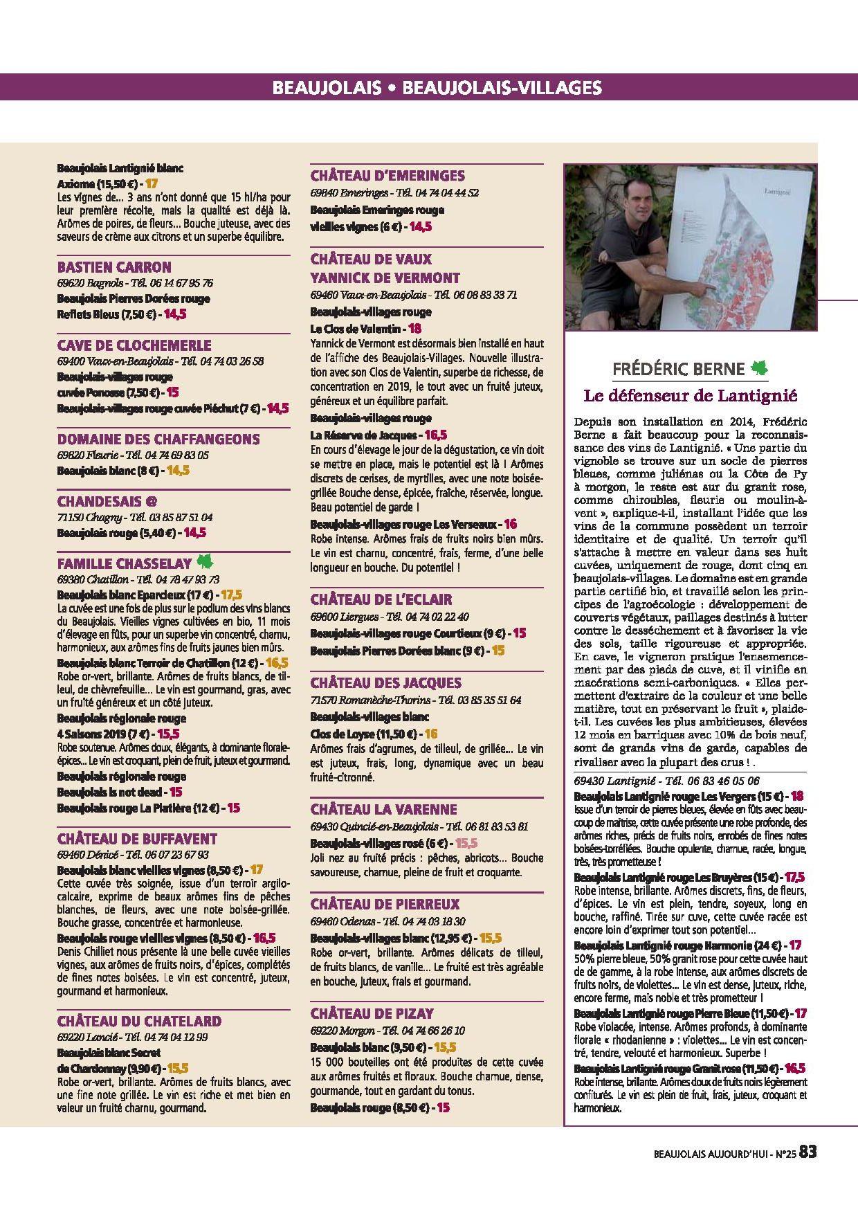 Bourgogne Aujourd hui octobre 20